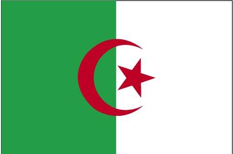 bandiera algeria